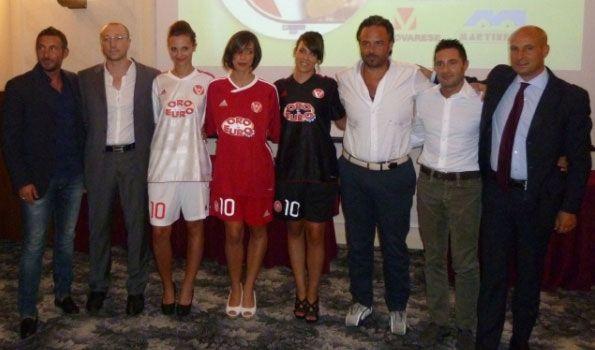 Presentazione divise Varese 2012-13