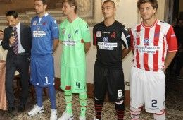 Presentazione maglie Vicenza 2012-13