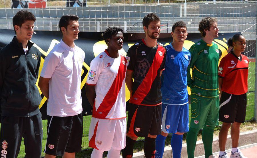 Divise 2012-2013 Rayo Vallecano