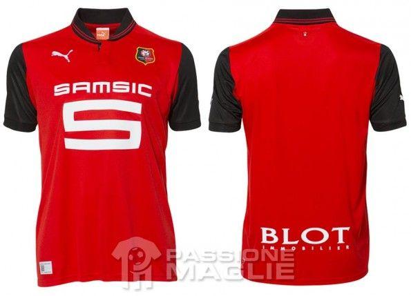 Rennes maglia home 2012-2013