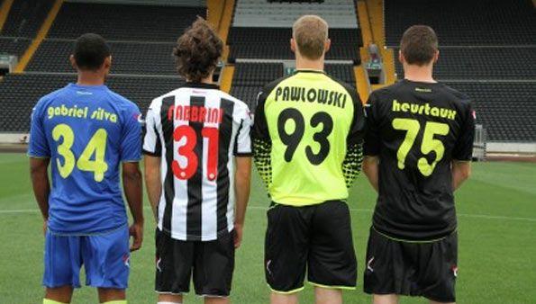 Retro maglie Udinese 2012-13
