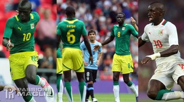 Senegal maglie Olimpiadi 2012 Puma