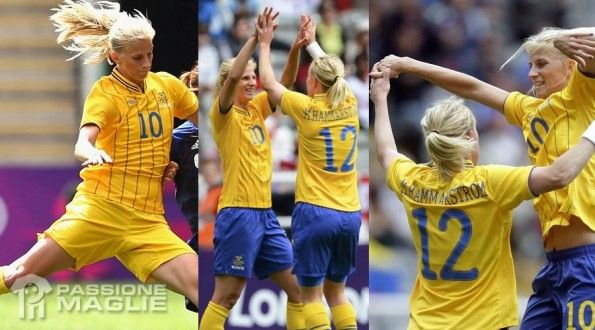 Divise Svezia femminile alle Olimpiadi 2012