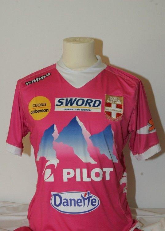 La terza maglia 2012-2013 dell'Evian TG