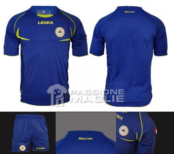 Udinese seconda maglia 2012-2013