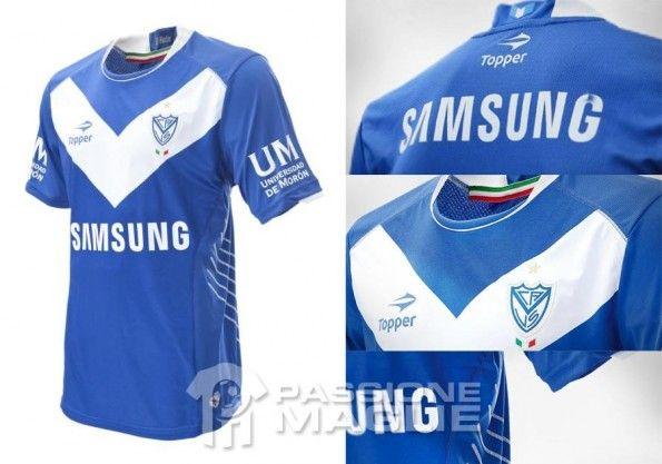 Seconda maglia Vélez 2012-13