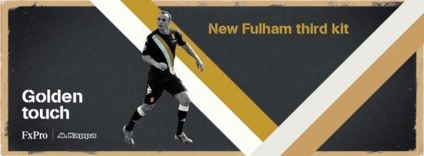 """""""Golden touch"""" per la terza divisa del Fulham 2012-2013"""