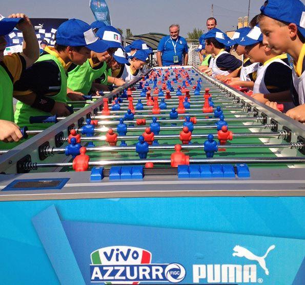 Calciobalilla villaggio Vivo Azzurro Puma