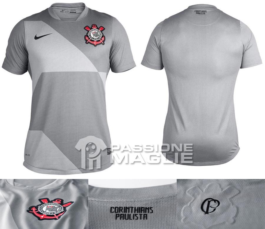 Corinthians terza maglia Nike 2012