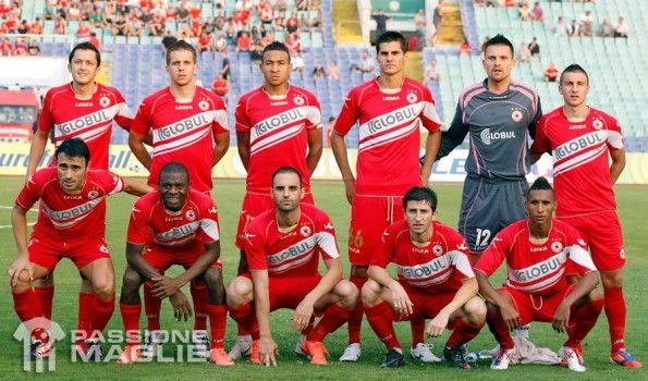 CSKA Sofia prima maglia 2012-2013