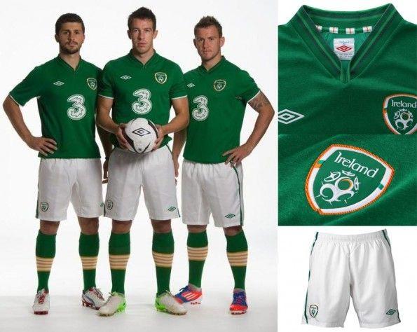 Divisa verde Irlanda 2012-2013
