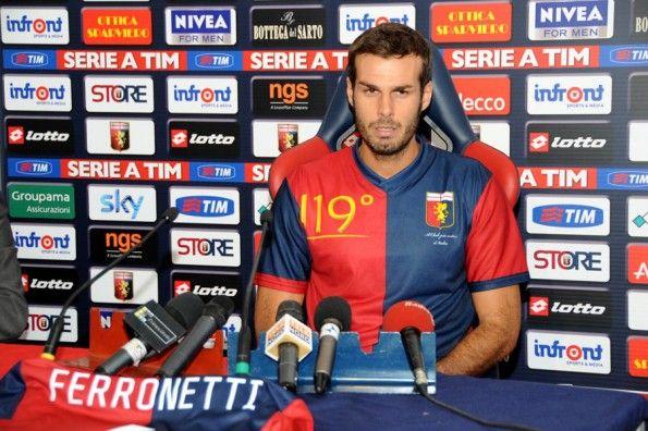 Ferronetti maglia Genoa 119 anni