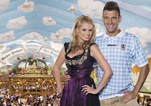 Maglia dedicata all'Oktoberfest 2012 per il Monaco 1860