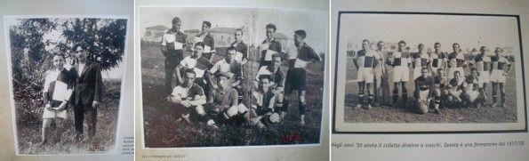 Le maglie del Rimini nel 1919, 1927, 1938
