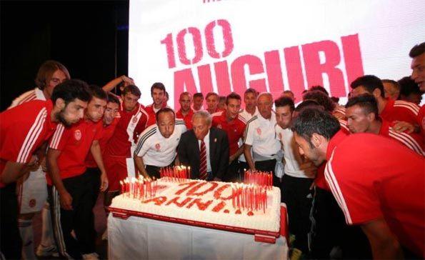 Festa Monza 100 anni torta