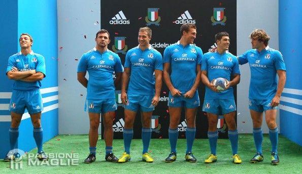 Presentazione maglia Italia Rugby adidas a Roma