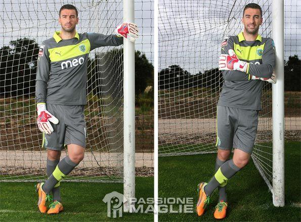 Rui Patricio con materiale Puma