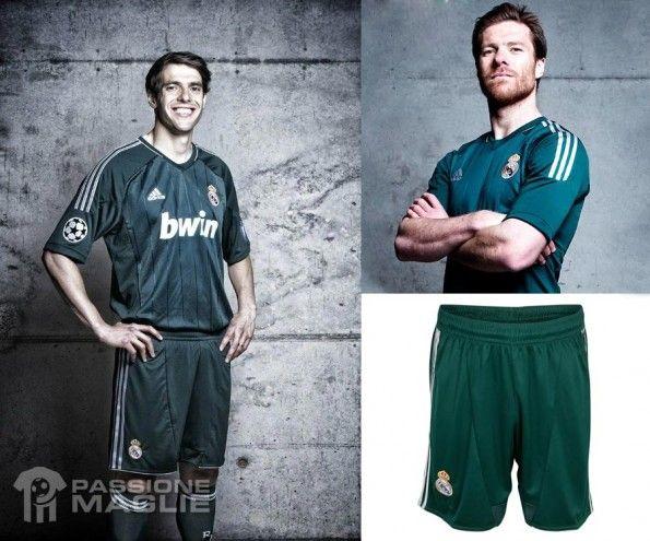 Kakà Xabi Alonso terza maglia Real Madrid verde