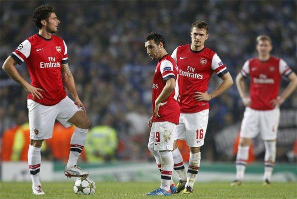 Arsenal kit home 2012-2013