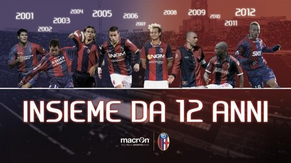 Macron sponsor Bologna 2001