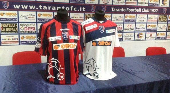 Taranto maglie 2012-2013 Sportika