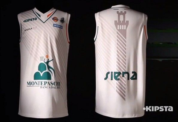 La maglia Kipsta della Mens Sana Siena per il 2012-2013