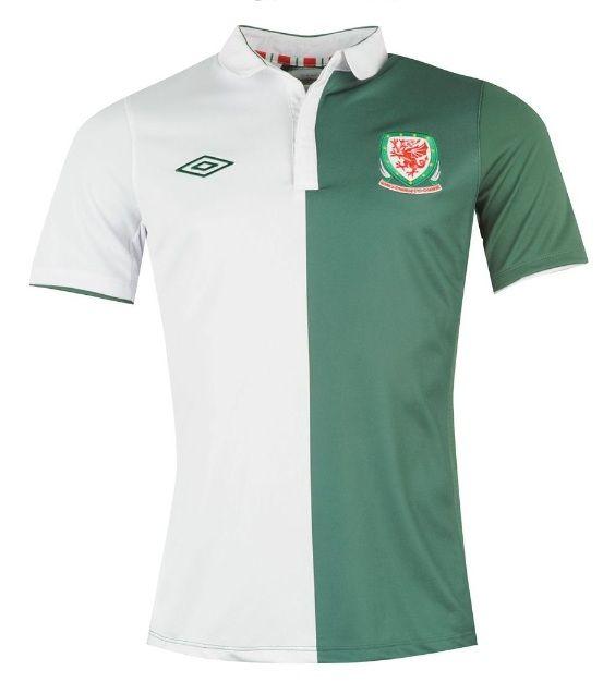 Maglia away trasferta Galles 2012-2013