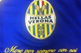 Ricamo Morosini maglia Hellas Verona