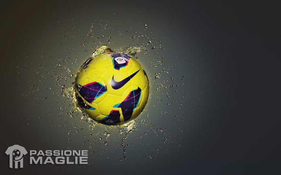 Pallone Serie A Nike Maxim Hi-Vis