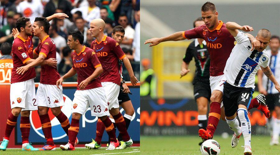Roma-Atalanta, maglia Hall of Fame