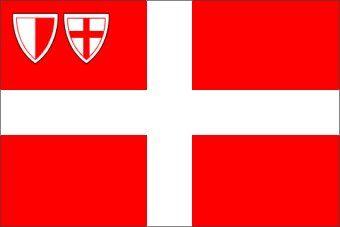 La bandiera storica della Repubblica Fiorentina