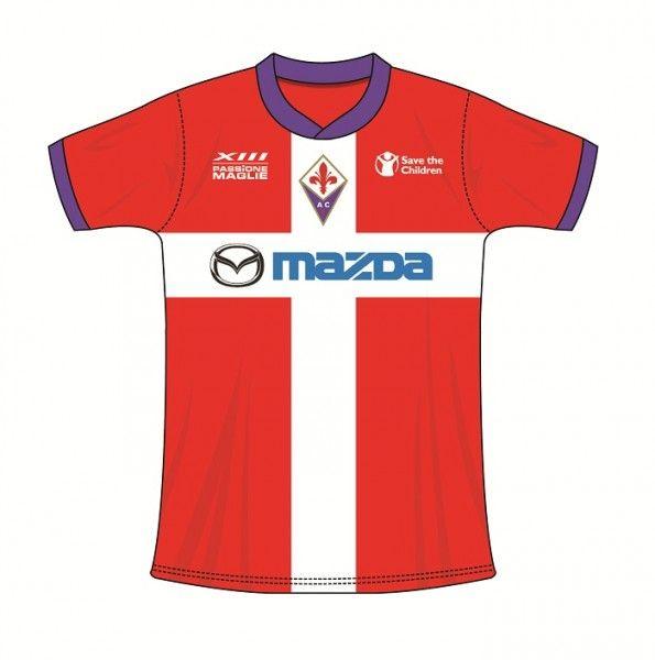 Terza maglia crociata Fiorentina - Versione A