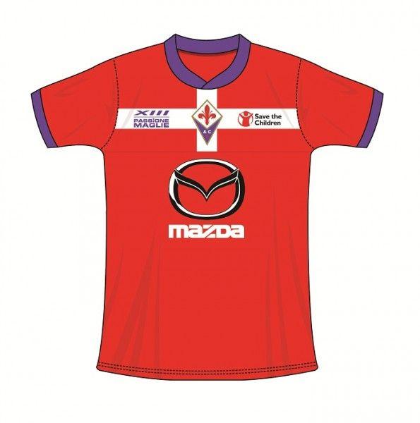 Terza maglia crociata Fiorentina - Versione B
