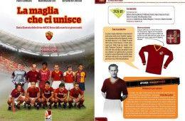 Libro La maglia che ci unisce, maglie AS Roma
