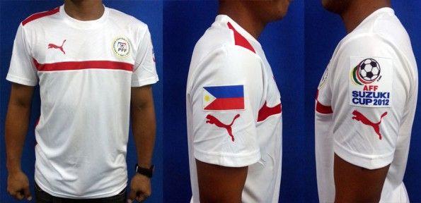Filippine maglia away 2012 Puma