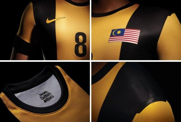 Malesia prima maglia 2012 Nike