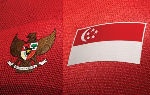 Stemma Singapore e Indonesia
