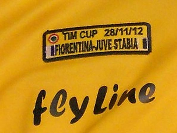 Toppa speciale maglie Juve Stabia VS Fiorentina