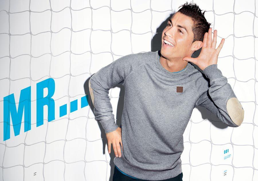 Ronaldo presenta collezione CR7 Nike