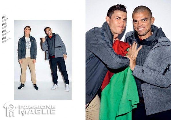 Ronaldo Pepe foto collezione CR7 Nike
