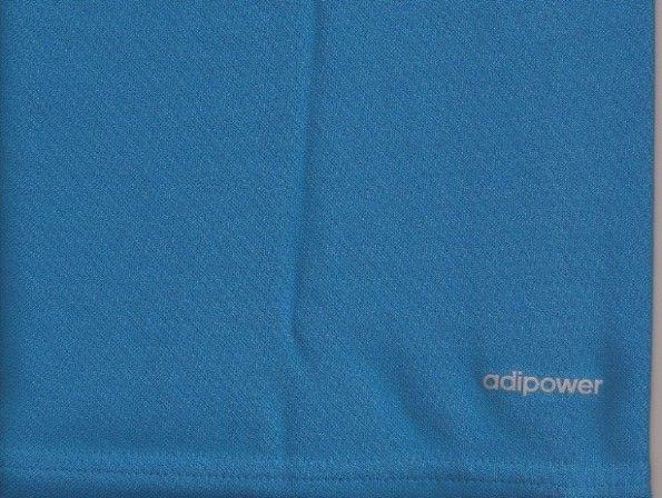La scritta Adipower sulla maglia della nazionale di rugby