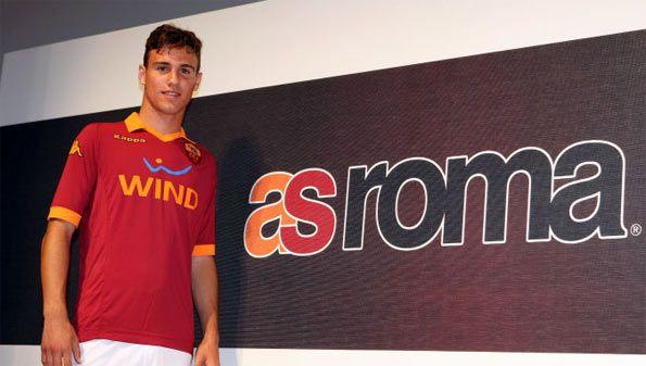 Presentazione maglia Roma