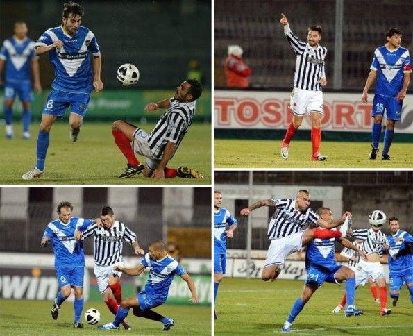 Ascoli con le calze rosse contro il Brescia