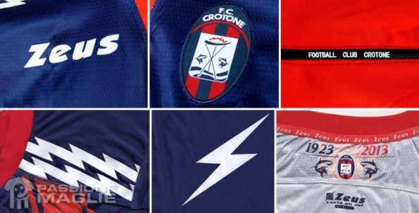 Particolari maglia Crotone 2012-13