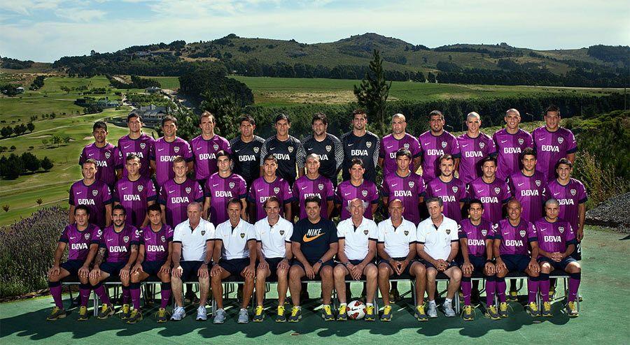 Boca Junior rosa 2013