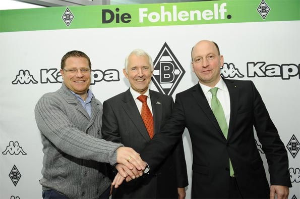 Kappa sponsor tecnico Borussia Monchengladbach