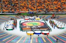 Cerimonia apertura Coppa Africa 2013