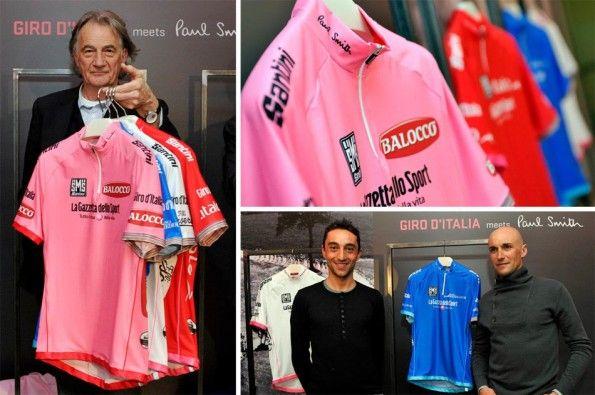 Casacche ufficiali del Giro d'Italia 2013