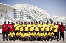 Rosa del Ghana per la Coppa d'Africa 2013