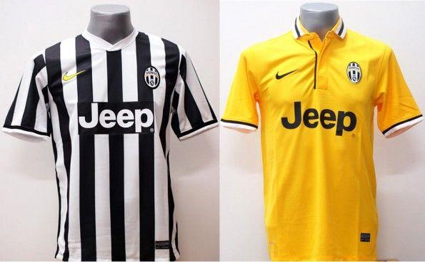 Maglie Juventus 2013-14 contraffatte